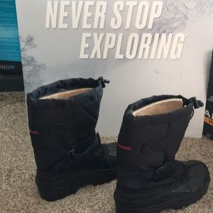 Kamik insulated warm winter weather boots ! 🔥